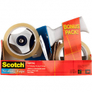 3m bps-1 scotch packaging tape dispenser and tape pack 2 rolls