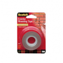 3M scotch super strength exterior mounting tape 25.4mm x 1.51m