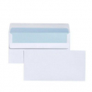 Cumberland DLX plain envelopes self seal secretive 120 x 235mm box 500