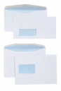 Cumberland DLX window envelopes self seal secretive 80gsm 120 x 235mm box 500