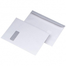 Cumberland envelopes c4 229x324 window face 100gsm secretive white box 250