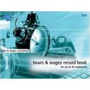 Zions #76 hour / wage book medium