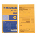 Cumberland printed pay envelopes 85gsm 90 x 165 gold box 500