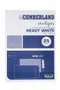 Cumberland envelopes pocket b4 353x250 100gsm strip seal white pack 25