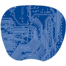 Kensington super thin mouse pad blue 1mm