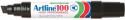 Artline 100 jumbo permanent marker chisel black