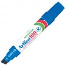 Artline 100 jumbo permanent marker chisel blue