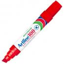 Artline 100 jumbo permanent marker chisel red