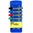 Artline whiteboard marker caddy kit