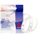 Avery 934242 reinforcement rings vinyl clear pack 250