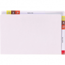 Avery lateral twin tab file super heavy weight foolscap white box 100