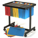 Acco data suspension file binder trolley