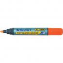 Artline 577 drysafe whiteboard marker 2mm bullet orange