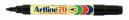 Artline 70 permanent marker fine bullet 1.5mm black