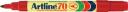 Artline 70 permanent marker fine bullet 1.5mm red