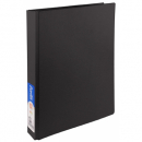 Bantex ring binder a4 2 ring 25mm black