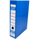 Bantex box file heavy duty 70mm FC blueberry