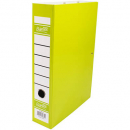 Bantex box file heavy duty 70mm FC lime