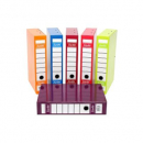 Bantex box file heavy duty 70mm FC plum