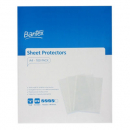 Bantex tough sheet protectors 90 micron A4 clear box 100