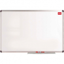Nobo whiteboard wall mounted aluminium frame magnetic 450x600mm