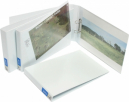 Bantex insert binder landscape A3 3 ring 38mm white