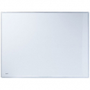 Bantex desk mat transparent 390 x 580mm