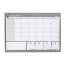 Bantex deskpad A2 undated monthly
