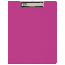 Bantex pvc clipfolder A4 grape