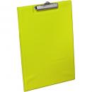 Bantex pvc clipfolder A4 lime