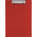 Bantex pvc clipfolder A4 red