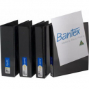 Bantex 2731-210 insert binder A4 2 ring 25mm black