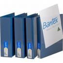Bantex 2731-201 insert binder A4 2 ring 25mm blue