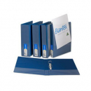 Bantex 2732-201 insert binder A4 2 ring 38mm blue