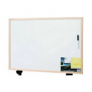 Quartet whiteboard economy pine frame 450 x 600mm