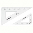 Celco set square 60 degree 210mm clear