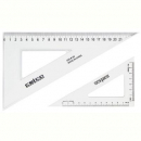Celco set square 60 degree 140mm clear