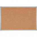 Rapidline aluminium framed corkboard 1200 x 900mm