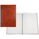 Collins 3880 series account book A4 84 leaf day book paged red