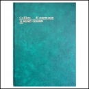 Collins 61 series analysis book A4 84 leaf 12 money column green