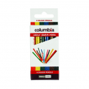 Columbia coloured pencils half size pack 6