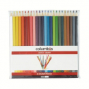 Columbia colorsketch pencils full length wallet 24