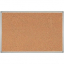 Rapidline aluminium framed corkboard 900 x 600mm