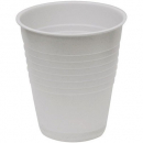 Castaway disposable plastic cup 200ml white box 1000