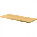 Rapid worker bookcase shelf 900 x 300 x 25mm beech