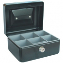 Esselte cash box classic no 6 152 x 118 x 80mm black