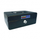 Esselte cash box classic no 8 200 x 150 x 80mm black