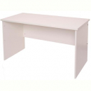 Rapid vibe open desk 1200 x 600mm white