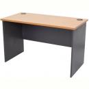 Rapid worker desk open 1500 x 750mm beech/ironstone
