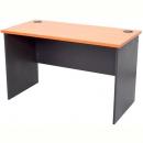 Rapid worker desk open 1500 x 750mm cherry/ironstone